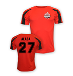 Camiseta Bayern de Munich (Vermelha) David Alaba