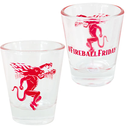 Copo Fireball Cinnamon Whisky