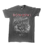 Camiseta Bon Jovi Slippery When Wet (vintage WASH)