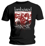 Camiseta Lamb of God de homem - Design: Enough is Enough