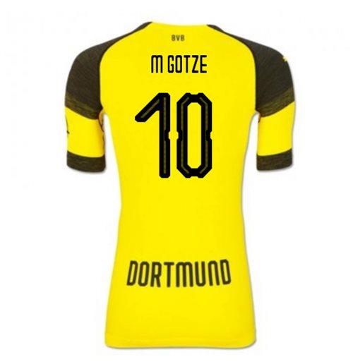 Camiseta 2018 2019 Borussia Dortmund 2018-2019 Home Original Online 8a91a7c37bc0b