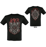 Camiseta Slayer de homem - Design: Medal 2013/2014 Dates