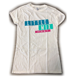 Camiseta Little Mix de mulher - Design: Logo Blue/Pink