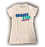 Camiseta Little Mix de mulher - Design: Logo Blue/Purple