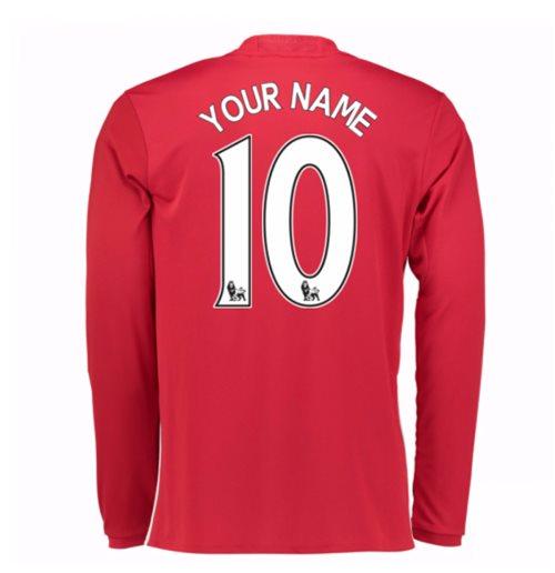 d6ca04ef2b9f3 Compra Camiseta Manchester United FC 2016-2017 Home personalizada