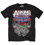 Camiseta Asking Alexandria de homem - Design: Flagdana