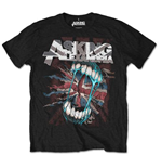 Camiseta Asking Alexandria de homem - Design: Flag Eater
