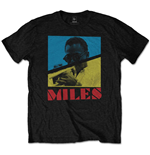 Camiseta Miles Davis de homem - Design: Throwback