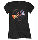 Camiseta Pink Floyd de mulher - Design: Machine Greeting Orange