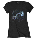Camiseta Pink Floyd de mulher - Design: Machine Greeting Blue