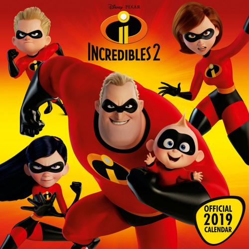 Calendário The Incredibles 318595