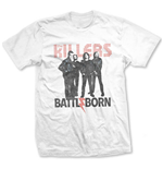 Camiseta The Killers de homem - Design: Battle Born