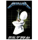 Poster Metallica - Design: Metal Up Your Ass
