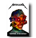 Poster Metallica - Design: Hardwired to Self Destruct