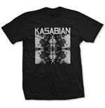 Camiseta Kasabian de homem - Design: Solo Reflect