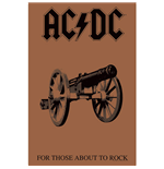 Poster AC/DC - Design: For Those About To Rock