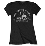 Camiseta Bring Me The Horizon de mulher - Design: Happy Song