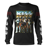 Camiseta manga comprida Kiss 319825