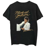 Camiseta Michael Jackson  de homem - Design: Thriller White Suit