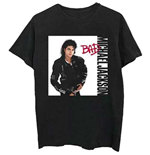 Camiseta Michael Jackson  de homem - Design: Bad