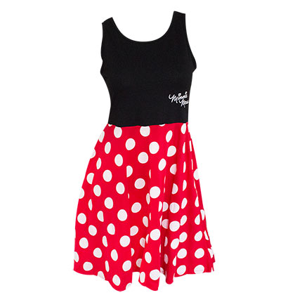 Vestido Minnie De Mulher