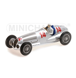 MERCEDES BENZ W125 MANFRED V. BRAUCHITSCH 2ND PLACE GP DEUTSCHLAND 1937