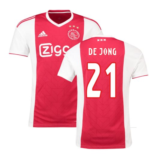 el más nuevo c1feb 7ff2b Camiseta 2018/2019 Ajax 2018-2019 Home