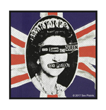 Logo Sex Pistols - Design: God Save The Queen