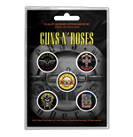 Broche Guns N' Roses - Design: Bullet Logo