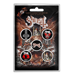 Broche Ghost - Design: Prequelle
