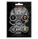 Broche Five Finger Death Punch - Design: Logos