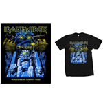 Camiseta Iron Maiden de homem - Design: Back in Time Mummy