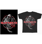 Camiseta Iron Maiden de homem - Design: Piece of Mind Circle