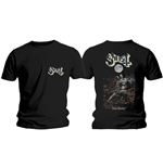 Camiseta Ghost de homem - Design: Dance Macabre Cover & Logo