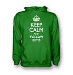 Suéter Esportivo Keep Calm and Carry On (Verde)