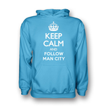Suéter Esportivo Keep Calm and Carry On (Azul Céu)
