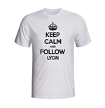 Camiseta Keep Calm and Carry On (Branco)