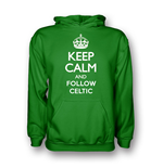 Camiseta Keep Calm and Carry On (Verde)