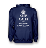 Suéter Esportivo Keep Calm and Carry On (Azul Marinho)