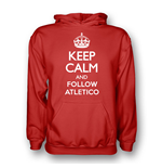 Suéter Esportivo Keep Calm and Carry On (Vermelho)