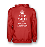 Camiseta Keep Calm and Carry On (Vermelho)