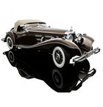 MERCEDES BENZ 550K SPEZIAL ROADSTER BROWN 1934