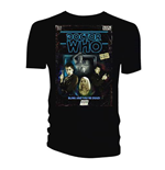 Camiseta Doctor Who de homem - Design: Retro VHS Cover 10th Doctor Colour Graded