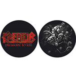 Capa de tocadiscos Kreator - Design: Pleasure to Kill