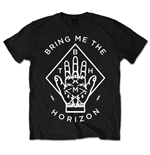 Camiseta Bring Me The Horizon unissex - Design: Diamond Hand