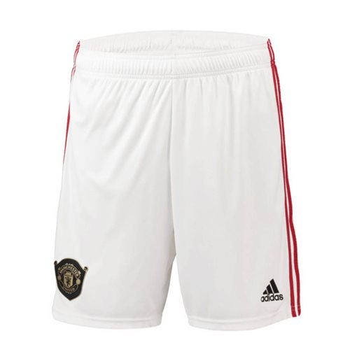 Shorts Manchester United FC 2019-2020 Home (Branco)