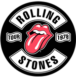 Logo The Rolling Stones - Design: Tour 1978