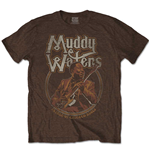 Camiseta Muddy Waters unissex - Design: Father of Chicago Blues