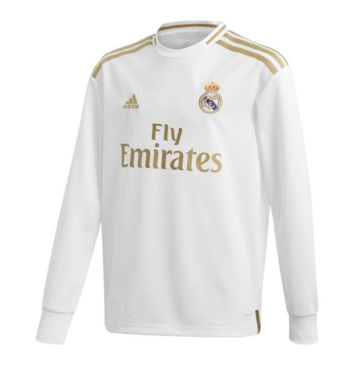 Camiseta manga longa Real Madrid 2019-2020 Home