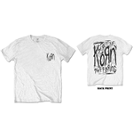 Camiseta Korn unissex - Design: Scratched Type